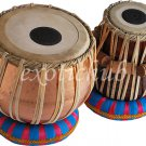 PRO COPPER TABLA DRUM SET~4 KG BAYAN~CAN PLAY WITH HARMONIUM, SITAR, TANPURA, DJ