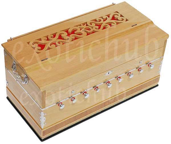OM HARMONIUM BY KAAYNA MUSICALS~PRO GRADE~9 STOP~BHAJAN~YOGA~KIRTAN-440Hz~MANTRA