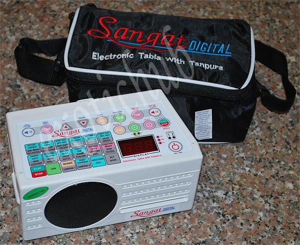 SANGAT DIGITAL~ELECTRONIC TANPURA & TABLA DRUMS WITH PAKHAWAJ, DUFF & DHOLAK~DJ