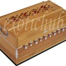 HARMONIUM~MAGIC VOICE SPL~TEAK COLOR~9 STOPS~440 Hz~SHRUTI~YOGA~KIRTAN~BHAJAN~DJ