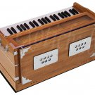 HARMONIUM~TEAK COLOR~440Hz~EXTRA HEIGHT~LONG SUSTAIN SOUND~YOGA~BHAJAN~MANTRA~DJ