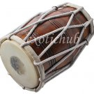 BUY DHOLAK DRUM~ROPE TUNED~SHEESHAM WOOD~DHOLKI~NAAL~BHAJAN~KIRTAN~DHOLAK EHS