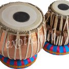 TABLA DRUMS SET~CONCERT QUALITY~HAMMERED COPPER BAYAN 5 KG~SHEESHAM WOOD DAYAN