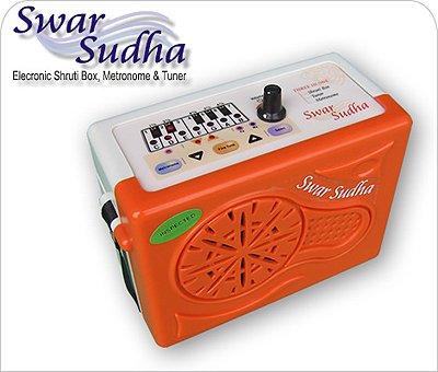 SHRUTI BOX~ELECTRONIC SWAR SUDHA~SUR-PETI~DRONE~LARGE & ACCURATE PITCH RANGE