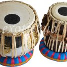 TABLA DRUMS SET~OM BRASS BAYAN~SHESHAM WOOD DAYAN~HAMMER~CUSHION~COVER~BHAJAN~DJ