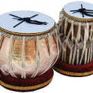 TABLA DRUM SET~COPPER 5KG HAMMERED BAYAN~SHESHAM WOOD DAYAN~TABLA EHS