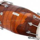DHOLAKI MAHARAJA™SHESHAM WOOD/SPECIAL BOLT TUNED/WEDDING INDIAN DHOLKI/ABI-01
