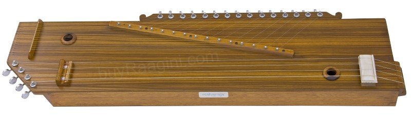 MAHARAJA� SWARMANDAL+TANPURA 2IN1/TUN WOOD/4+15 BRASS STRINGS/SPRCIAL QUA./AAJ-2