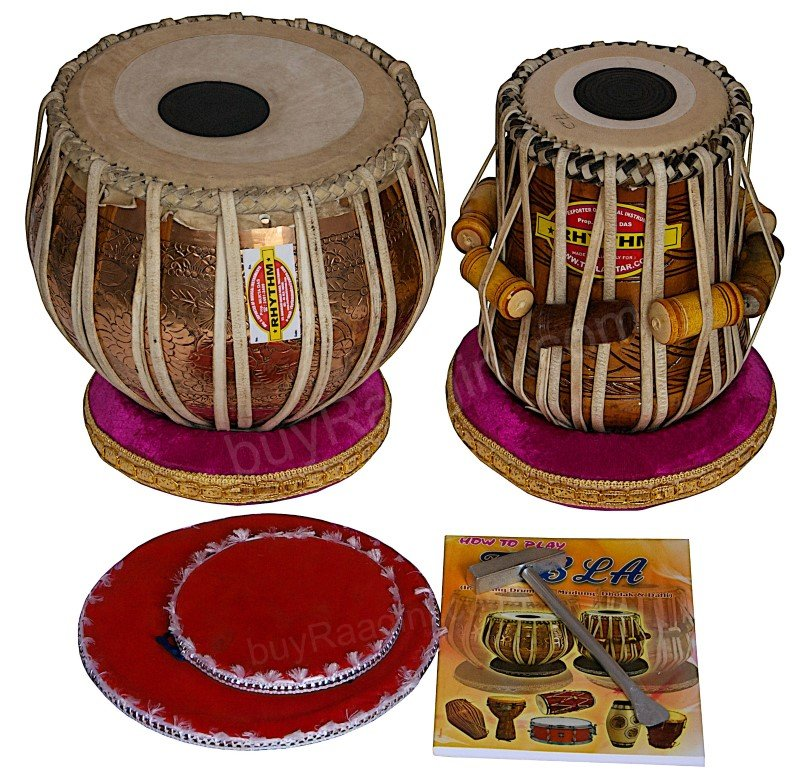 TABLA SET/MUKTA DAS�/CONCERT GANESHA GOLDEN COPPER BAYAN 4KG/MAHA-AGNI DAYAN/ADD