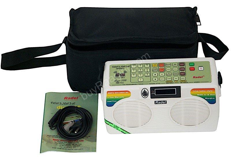 RADEL� TAALMALA DIGI 108 DIGITAL ELECTRONIC TABLA & LATEST MANJIRA/AAF-01