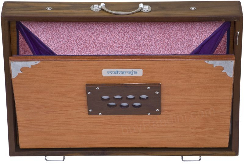 SHRUTI BOX BIG SIZE/MAHARAJA/CONCERT SHRUTI BOX/NATURAL(16x12x3 INCHES)/EFE-10