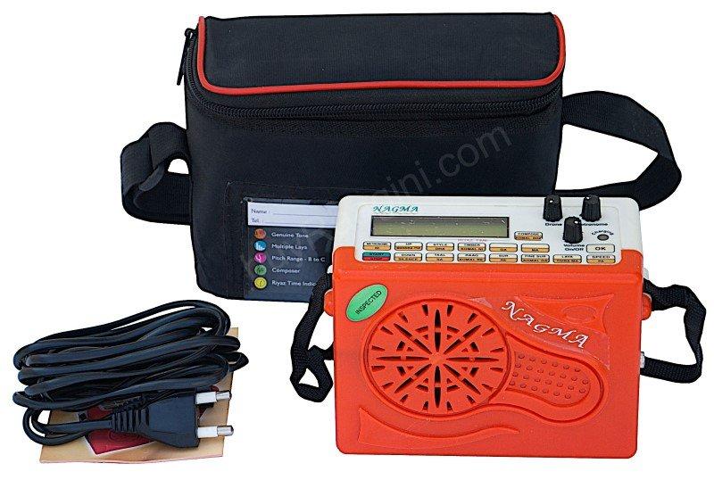 NAGMA� BUY ELECTRONIC LEHRA MACHINE/CONCERT QUALITY/1 YR WARR./BAG/CORD/HA-02