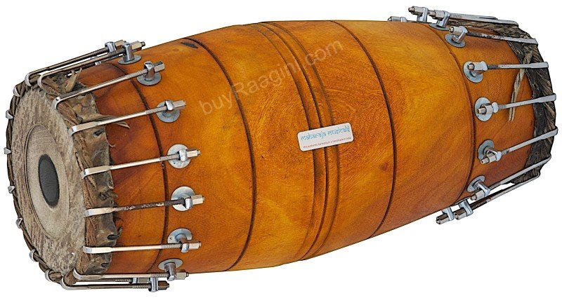 MRIDANGAM MAHARAJA� FOR SALE SOUTH INDIA/JACK-FRUIT WOOD/FREE SHIPPING/BBI-1