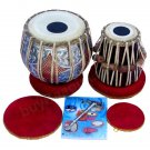 TABLA SET/MAHARAJA™CONCERT DOUBLE COLOR 4.5KG/SHEESHAM DAYAN//INDIAN/ACC./GJ