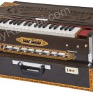HARMONIUM No.6200tw/CALCUTTA/3REED/9 SCALE CHANGER/TEAK/BOOK/BAG/BGH-2