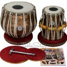 TABLA SET/LALI & SONS PRO DESIGNER/COPPER BAYAN 3.5KG/SHEESHAM DAYAN/CJH