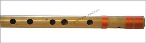 FLUTE MAHARAJA/CONCERT/SCALE A SHARP BASS 21.5 INCHS/FINEST BAMBOO BANSURI/CEC-2