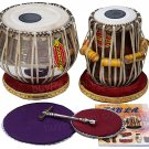 TABLA SET MUKTA DAS™/NEW CONCERT CHROME COPPER BAYAN 4KG/SHISHUM DAYAN/AEB-01