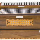 HARMONIUM/6200tn CALCUTTA/MAHARAJA/3 REED/9 SCALE CHANGER/TEAK/FOLDING/BAG/AGI-2