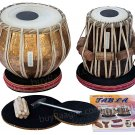 TABLA SET/MAHARAJA™ FLOWER DESIGNER/PRO COPPER BAYAN 3.5KG/SHEESHAM DAYAN/BHJ-