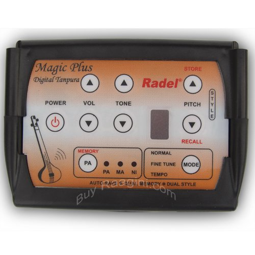 RADEL� SAARANG MAGIC PLUS DIGITAL ELECTRONIC TANPURA/WITH STRINGS/3YR WAR/AFI-2