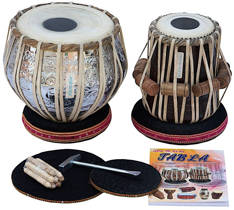 TABLA SET MAHARAJA� SPECIAL DELHI 3.5KG/SHEESHAM DAYAN/FREE SHIP./ACC./TUNED/BHC