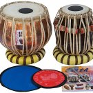 TABLA SET/VHATKAR™/PROFESSIONAL COPPER BAYAN 2½KG/SHESHAM DAYAN/HANDMADE/BAG/BAH