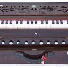 MKS™ HARMONIUM/A440/42 KEYS/CONCERT QUALITY/TEAK WOOD/2 REED/BAG/BOOK/BDC-02
