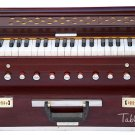 HARMONIUM No.5800r/FOLDING/MAHARAJA™A440/ROSEWOOD COLOR/COUPLER/9STOP/BOOK/AHF-1