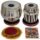 TABLA SET BUY AKBAR MIAN & BROS™ STANDARD/BRASS BAYAN 3KG/FINEST DAYAN/BFJ-02