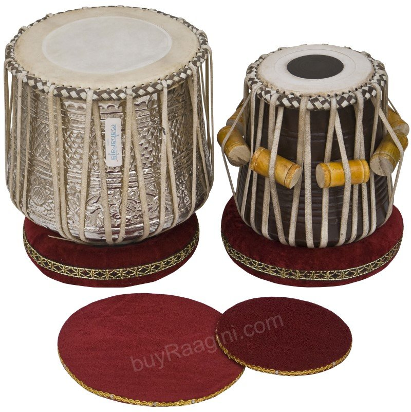 DHAMA JORI/MAHARAJA/NEW BRASS DHAMA/TABLA/DRUMS/SHEESHAM WOOD DAYAN/PUDDIS/ECJ-2