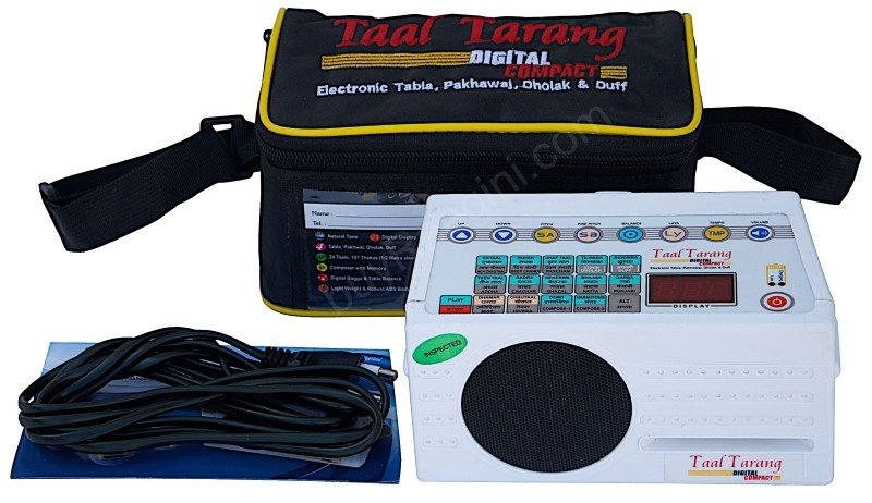 TAAL TARANG COMPACT� BY SOUND LABS ELECTRONIC TABLA /MAINS POWER CORD/DH-2