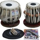 TABLA SET HARIDAS/VHATKAR™/CHROMED TABLA 3.5KG/COPPER BAYAN/SHEESHAM DAYAN/ECH-1