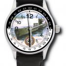 Das Boot! Vintage U-Boat WW-II Germany Kriegsmarine Submarine Art Wrist Watch