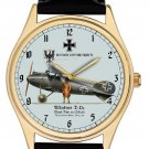 GERMAN IMPERIAL AIR FORCE ALBATROSS BIPLANE COMMEMORATIVE ART WRIST WATCH