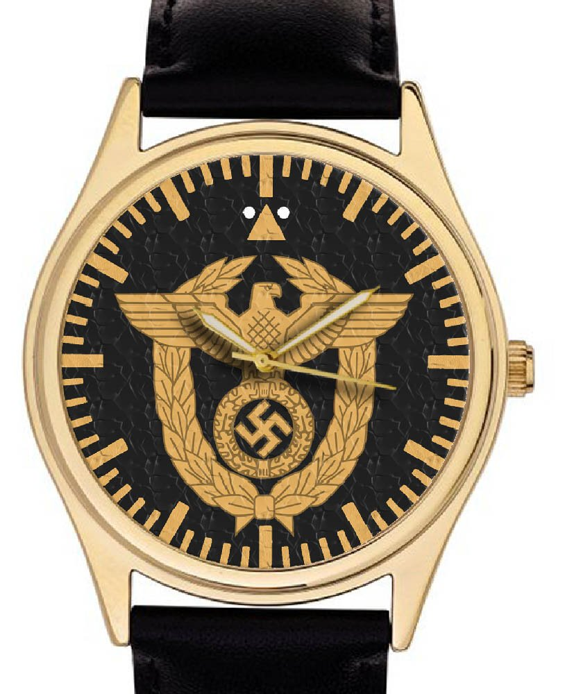 GERMANY SCHUTZSTAFFEL Gauleiter Officer Badge WW-II 1939 LIMITED EDITION WRIST WATCH