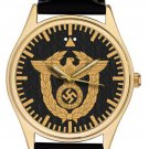 NAZI GERMANY SCHUTZSTAFFEL Gauleiter Officer Badge WW-II 1939 LIMITED EDITION WRIST WATCH