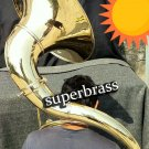 FULL BRASS 3/4 Bb SOUSAPHONE TUBA, NEW 2018 DESIGN, SUPER-SAFE USA SHIPPING