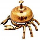 CRAB BELL! SHIP CAPTAIN'S TABLE BRITISH FRENCH ARISTOCRACY OFFICE HOTEL DESKTOP