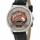 VINTAGE HMV VICTOR GRAMOPHONE / PHONOGRAPH ART COLLECTIBLE BRASS WRIST WATCH