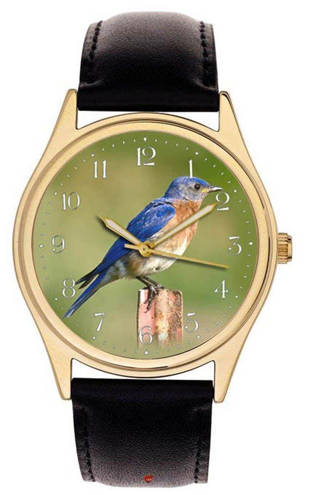 STUNNING ORINTHOLOGY WRIST WATCH CALLISTE PARADISA, ORINTHOLOGIST BIRD WATCHER