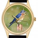 STUNNING ORINTHOLOGY WRIST WATCH CALLISTE PARADISA, ORINTHOLOGIST BIRD WATCHER
