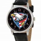 FANTASTIC AMERICAN EAGLE USA PATRIOTISM EAGLE SCOUT ART 40 mm WRIST WATCH