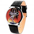 RARE HINDUISM NATARAJA LORD SHIVA TANDAVA RELIGIOUS ART 40 mm WRIST WATCH