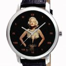 MARILYN MONROE DIAMONDS ARE A GIRL'S BEST FRIEND 40 mm COLLECTIBLE WRIST WATCH