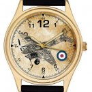 RARE WW-II RAF DE HAVILLAND MOSQUITO CROSS-SECTION COLLECTIBLE WRIST WATCH