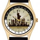 Symbolic Manhattan Skyline Classic Wrist Watch for Those Who Love New York City