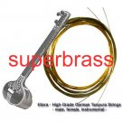 LADIES FEMALE TANPURA TAMBURA TANMBURI COMPLETE ORIGINAL STRING SET IN BRONZE