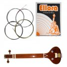 ROSLAU STEEL & BRONZE TANPURI, SAFARI  INSTRUMENTAL FLAT TANPURA FULL STRING SET