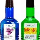 Vaadi Herbals Body Oil Choose from 2 Variants 110 ML Each Skin Care